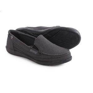 Walu Canvas Loafer Black Women's 3124